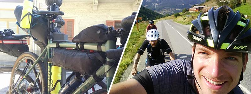 Radfernfahrt Turin-Nizza