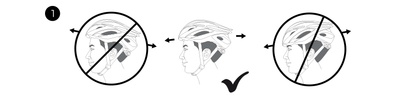 Helmet position