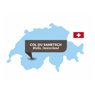 Col du Sanetsch, Wallis, Switzerland